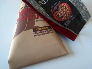 Printed packaging film for coffee
