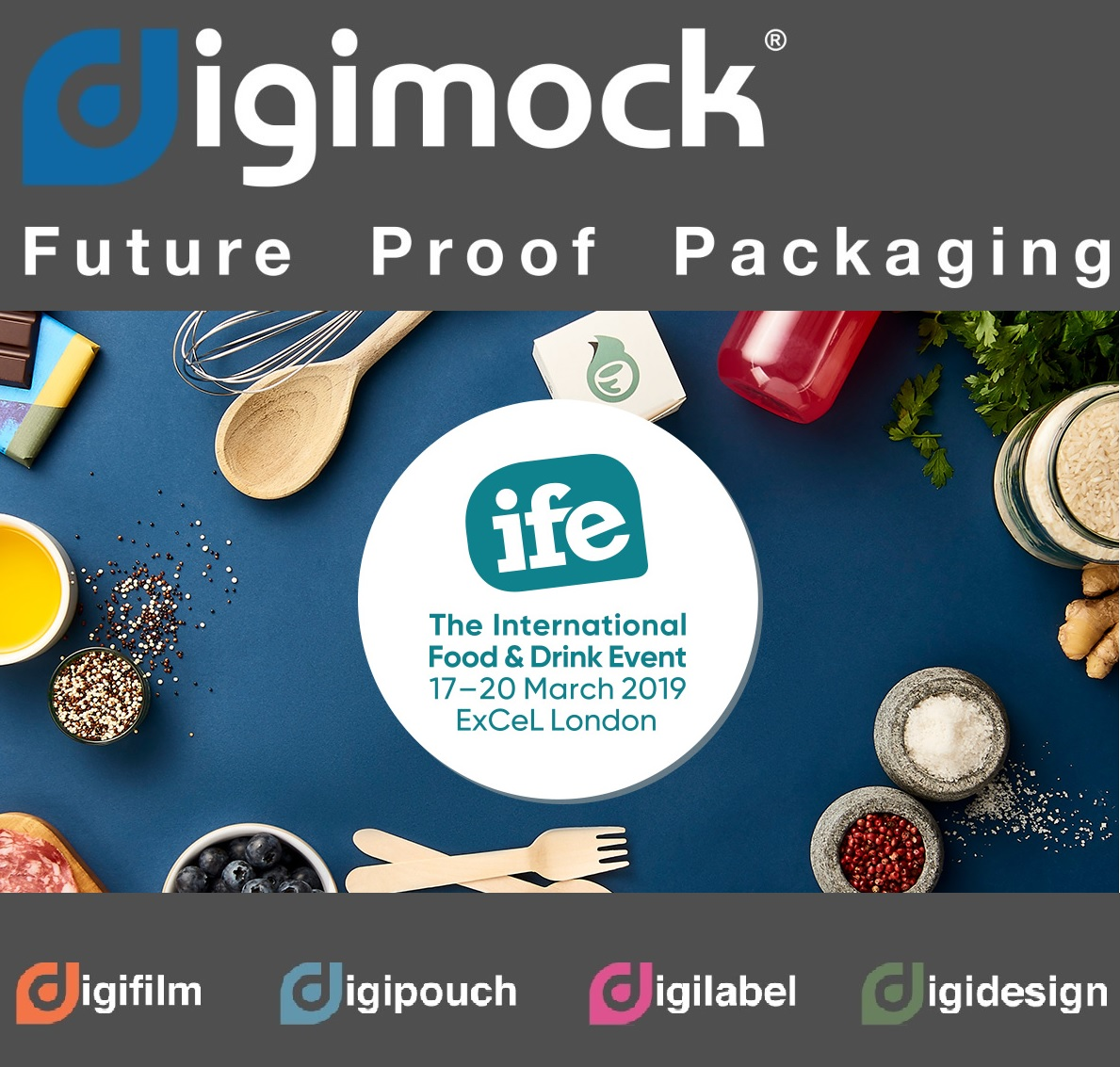 Why is Digimock exhibiting at IFE 2019